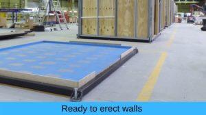 Ready to erect walls