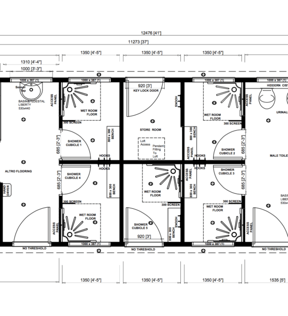 On The Level | Sovereign Case Study | Original Floor Plan