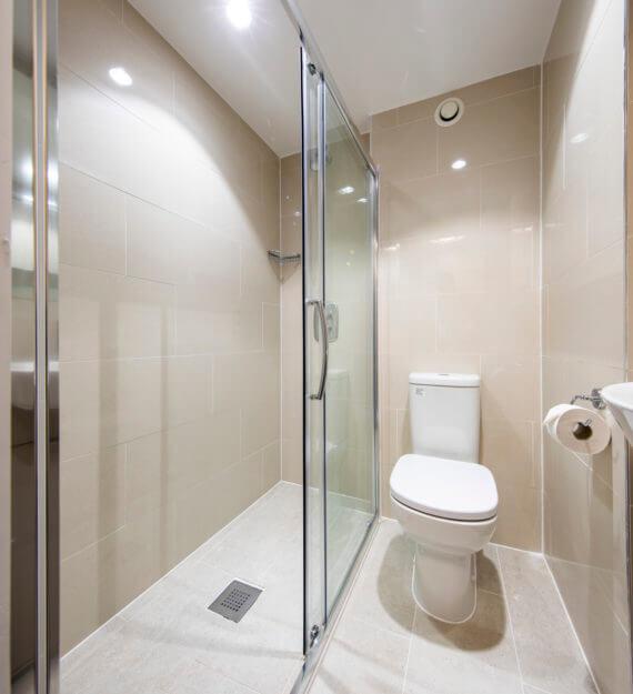 Student Accommodation Bathroom