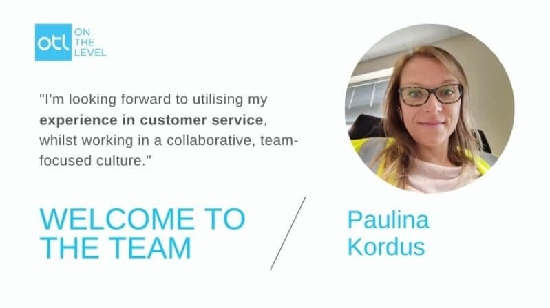 Blog Post Welcome to the team Paulina