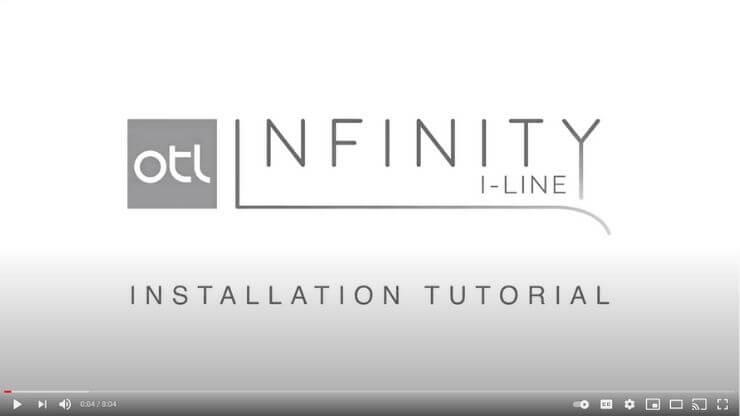 Infinity install video