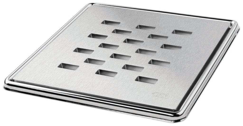 Square Grate Slotted