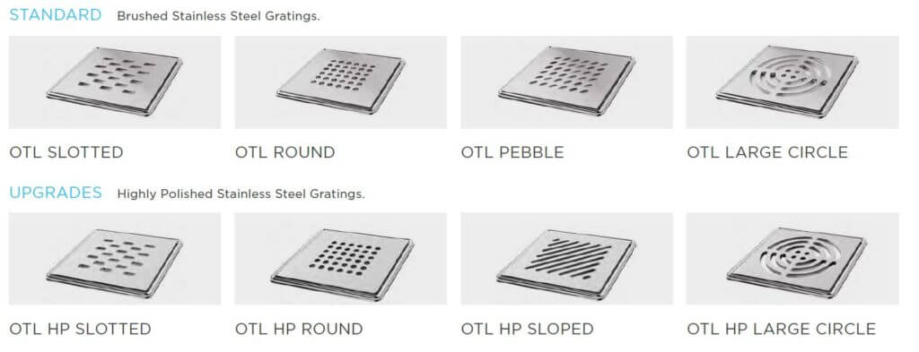 Square Grate Options