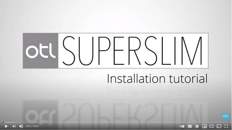 SuperSlim Install Video