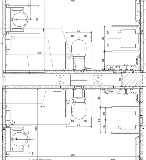 DNRC Case Study | Bathroom layout